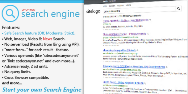 Free Site Search Engine PHP Scripts (thefreecountry.com)