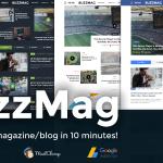 BuzzMag v1.0 Viral News WordPress Magazine Blog Theme Download