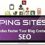 Download Ping Submission Sites List SEO Free