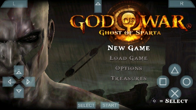 God of War – Ghost of Sparta apk iso psp android game download