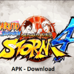 Naruto Shippuden Ultimate Ninja Storm 4 APK Mod Game PSP Android Download