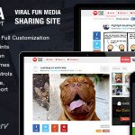 Ninja Media Script v1.5.1 – Viral Fun Media Sharing Site