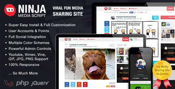 ninja-media-script-viral-fun-media-sharing-site-free-download