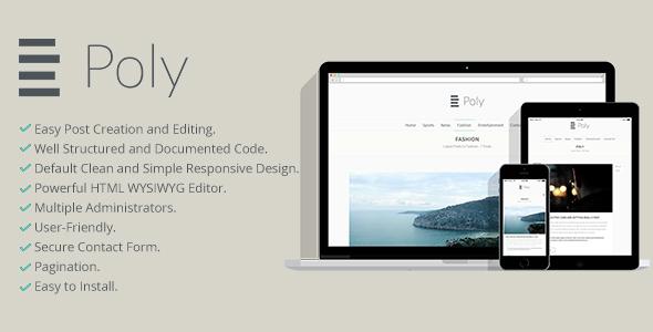 Poly Blogging Platform Nulled Script Download
