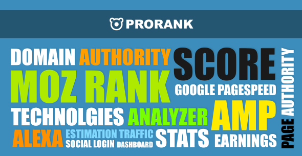 ProRank v1.0.5 Analyzer stats website CodeCanyon Download