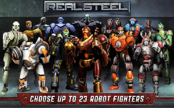 Real Steel HD APK v1.34.2 Mod Unlocked Full Download