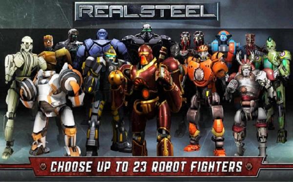 Real Steel HD APK v1.34.2 Mod Unlocked Full Download