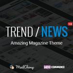 Trend News – Responsive Magazine Theme Download