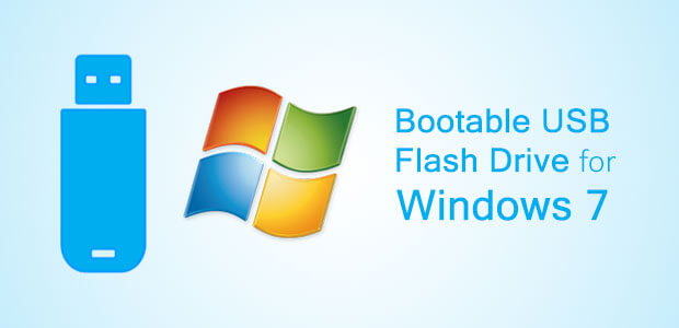 How to Create Windows 7 Bootable USB Drive From ISO File
