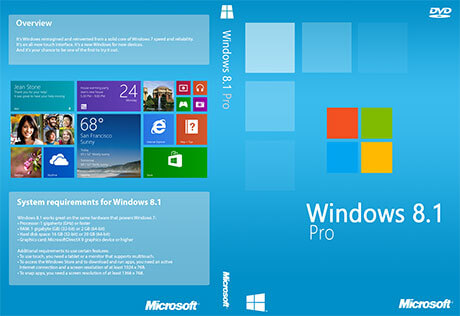 Windows 8.1 Pro ISO Download Free Full Version 32 and 64 Bit