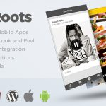 Ionic Roots Multi Purpose Hybrid App with WordPress Backend Download