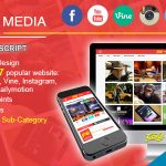 Gold MEDIA v2.0 – Video, Image Upload and Share