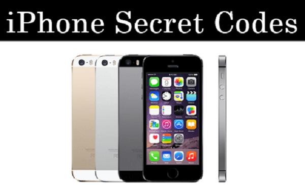 iPhone Hidden Secret Codes List 2017