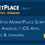 MarketPlace Apps Websites and Domains Selling Script