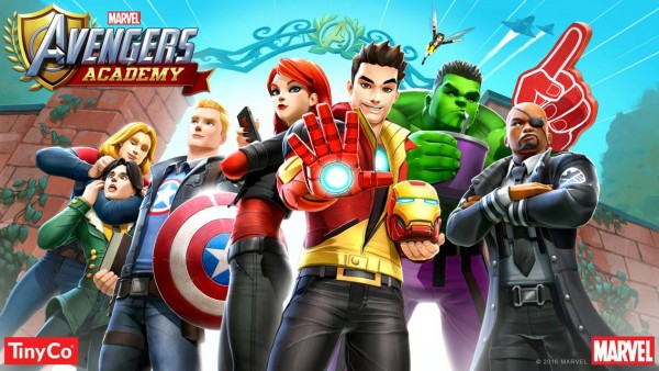 MARVEL Avengers Academy Apk Mod Free Shopping Instant Actions Download