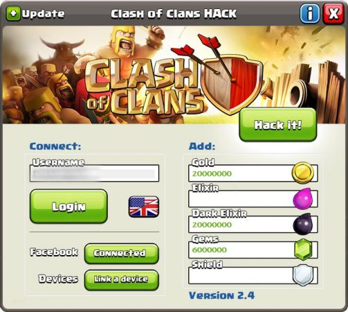 Clash of clans apk mode and cheat for unlimited gold coins