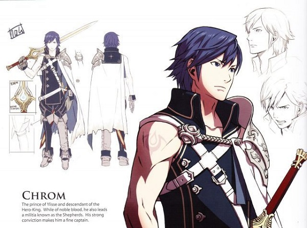 Fire Emblem Awakening Artbook Scans Download
