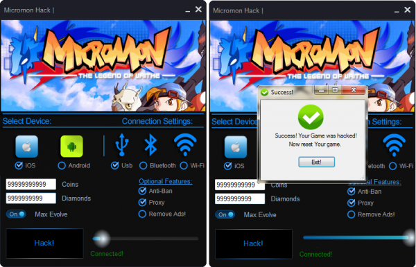 Micromon-Unlimited-coins-diamond-Hack-iOS-Android-free-download