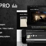 Music Pro v3.2.8 – Themeforest Music Oriented WordPress Nulled Theme Download