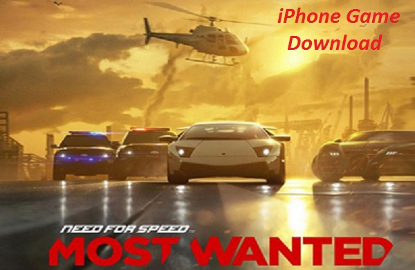 Need for Speed Most Wanted NFS iPhone Game Download