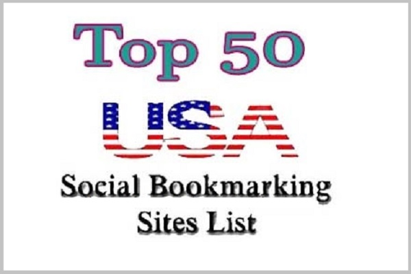 Top 50 USA Social Bookmarking Sites