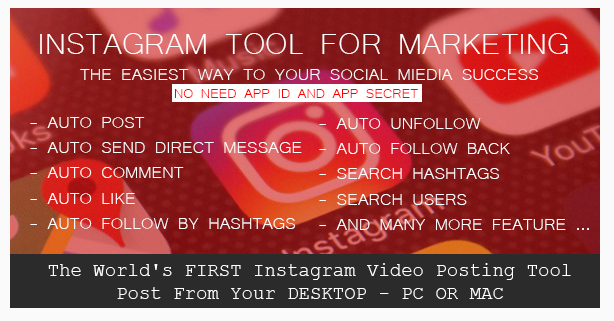 VTGram – Instagram Auto Like Tool For Marketing Script Download