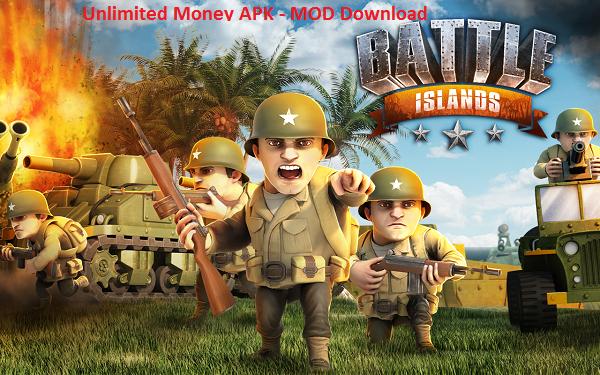 Battle Islands MOD APK Unlimited Money Download Game
