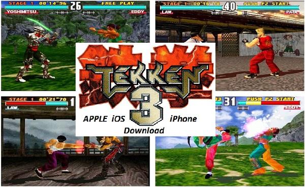 Tekken 3 ISO – Apple iOS iPhone Fighting Game Download