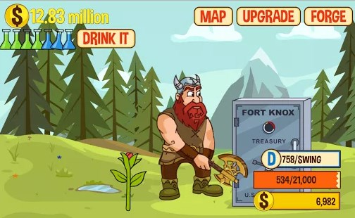 Axe-Clicker-Idle-Dwarfs-APK-Game-Download