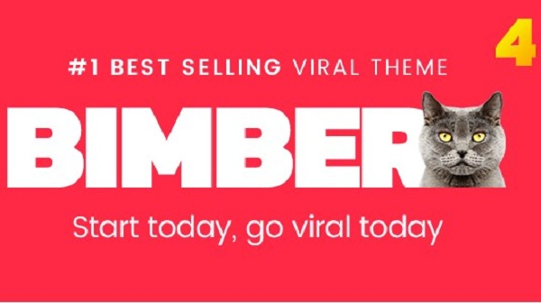 Bimber Viral Magazine WordPress Theme Download