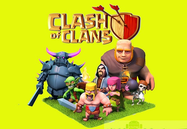 Download Clash of Clans APK MOD Unlimited Gold free game on Android