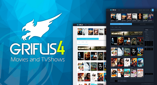 Grifus v4 WordPress Theme Movies Download