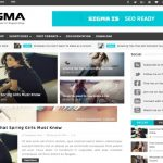 Sigma SEO Blogger Template Download