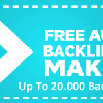 Top Free High PR Backlinks Generator Sites - Get Up To 20000 Backlinks