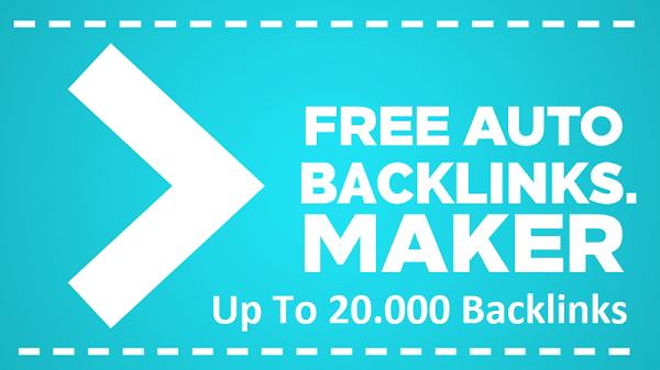Top Free High PR Backlinks Generator Sites – Get Up To 20000 Backlinks