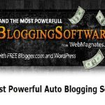 Auto Blogging Software Free Download