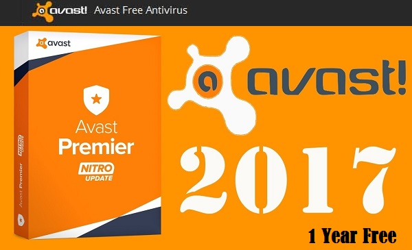 Avast Antivirus 2017 Download Free Activation for 1 Year