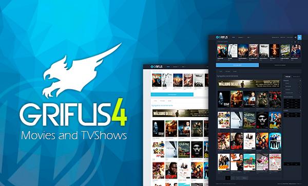 Grifus v4.2.6 – Legendary Null WordPress Theme Movies Download