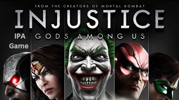 Injustice Gods Among Us IPA iPhone Game Download