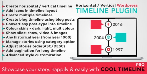 Nulled-Cool-Timeline-Pro-WordPress-Timeline-Plugin-Download