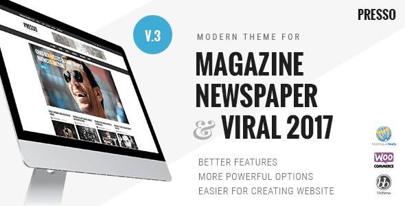 Nulled PRESSO – Modern Magazine Newspaper Viral Theme Download