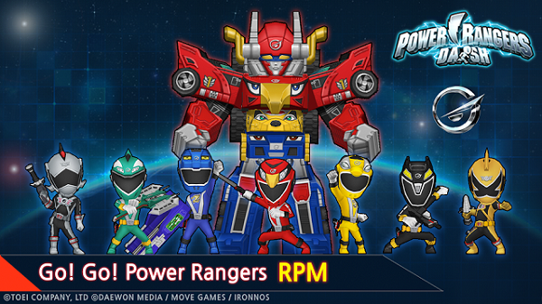 Power-Rangers-Dash-Mod-Apk-Unlimited-Power-Download