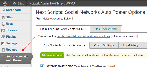 Download Social Networks Auto Poster PRO Multi Account Free