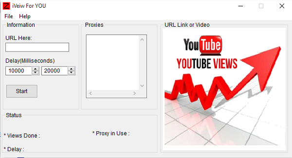 Youtube-Bot-Viewer-With-Fresh-Proxy-Lists