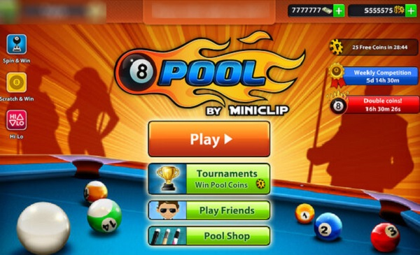 8 Ball Pool Mega Mod APK Miniclip Facebook Game Download