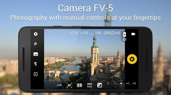 Download The Latest Version of Camera FV-5 Pro For the best Selfies