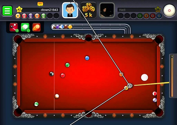 8 Ball Pool Line Hack PC Free Download