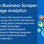 Facebook Business Scraper Page Analytics Codecanyon Download