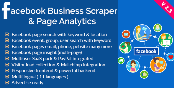Facebook-Business-Scraper-Page-Analytics-Codecanyon-Download