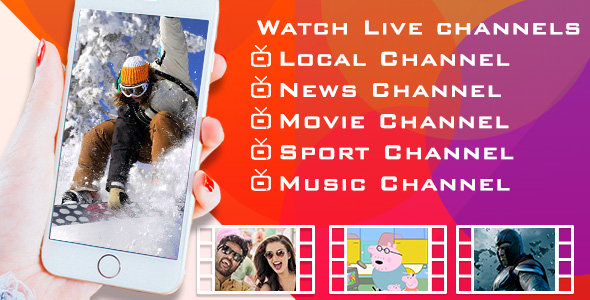 Download Latest Live TV Android app Nulled Script